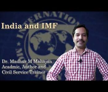 Madhur Mahajan| Indian and IMF| Economy Lessons for IAS| other competitive exams